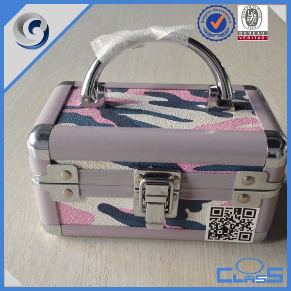 Beauty Professional Custom High-quality Aluminum Jewelry Box for Gift MLD-AC2687