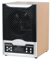 Ionized air purifier with ozone ionizer heap uv 7 stage purifications