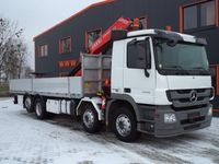 Mercedes-Benz ACTROS 3246 8x2 with Crane FASSI 310