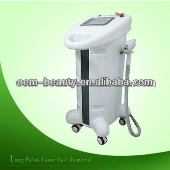 Perfect Form medical laser hair removal with different types of pulses for hair removal