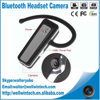 Factory Direct V22 H.264 Bluetooth Earphone Headset Style Mini Camera DV DVR HD Webcam DV Camcorder 1080P Video Recorder