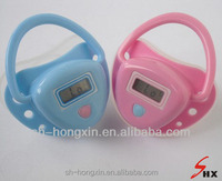 Baby use digital electronic thermometer body temperature nipple blue and pink color avaliable