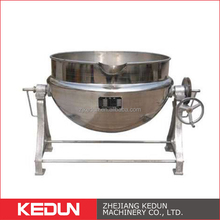 Electric Soup Equipment Hygiene Grade Industrial Steam Heating Cooker Jacket Kettle