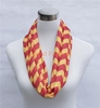 STOCKS hot in USA Canada inventory Chevron Greek Key Quatrefoil infinity scarf stole shawl scarf delivery within 3 days
