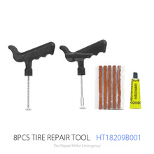 8 Pcs High Quality Car Repair Tool Kit And Tire Repair And Tyre Repair For Motorcycles And Cycles