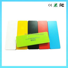 Colorful slim 3000mAh portable charger power bank ,Super Slim perfume portable charger wireless power