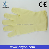 2016 Medical disposable best supplies oil and gas safety glove cheap latex gloves manufacturer