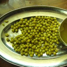 EU Standard 400g Canned Green peas factory Good Quality