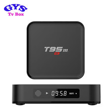Free android download google play store tv box T95M tiger receiver android tv box