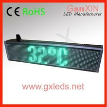 double sign LED scrolling led word display
