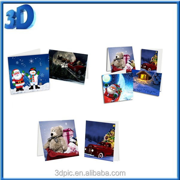 3D learning card for Christma Day