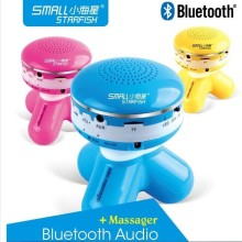 HOT JR-B001 Bluetooth speaker Mini Body Massager