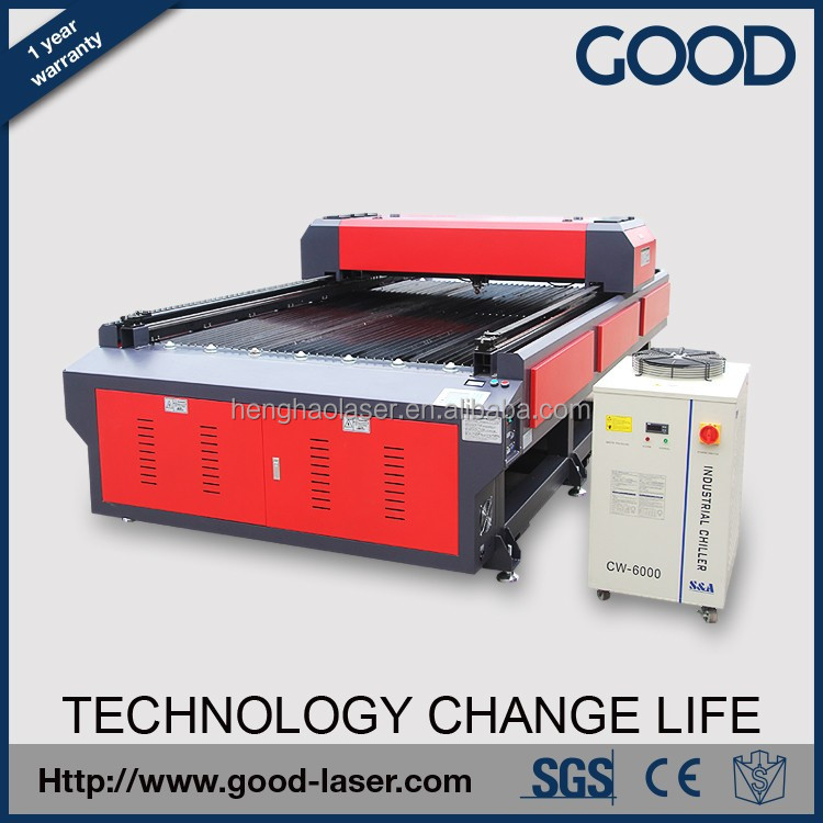 2016 hot sale cheap metal/stainless/plastic/fabric/sponge laser cutter bed/cutting machine/engraving machine price
