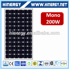 2000 watt solar panels reliable solar panel 200w with competitive price