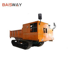Shandong factory self making 11000 lbs crawler transport dump vehicle