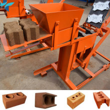China Small Manual Compressed Clay Soil Cement Interlocking Brick Making Machine for Sale in Africa