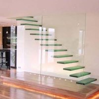 PVB Laminated Glass Stairs Very Safety and Strong