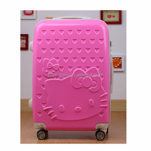 Promotion collection suitcase pink hello kitty travel luggage ,hello kitty suitcase