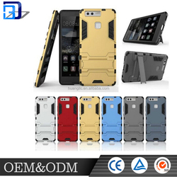 For Hua wei P9 Armour protective case Tpu and PC material