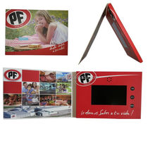 "Custom Business promos LCD custom video greeting card 2.4"" 4.3"" 5"" 7"" 10"" LCD Video Card"