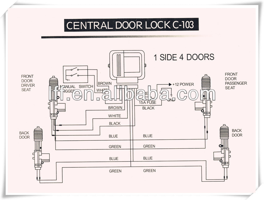 Made in china Car Central Door Lock for Cars Lock And Unlock