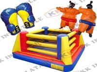 inflatable wrestling ring , inflatable boxing game area for sale