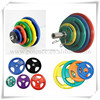 Standard Tri-grip Rubber Olympic Weight Plates