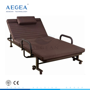 AG-FB003 CE ISO approved with comfortable mattress rollaway bed