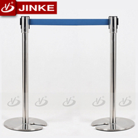 High Quality Stainless Steel Retractable Belt Stanchion Barrier In Singapore