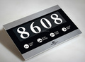 Electronic LED House Hotel Room Number Signs with DND MUR