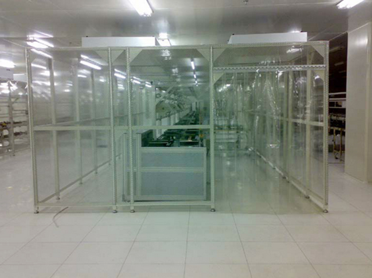 Softwall Class 100 Modular Cleanroom From Chinese Manufacturer (ISO5 to ISO8)