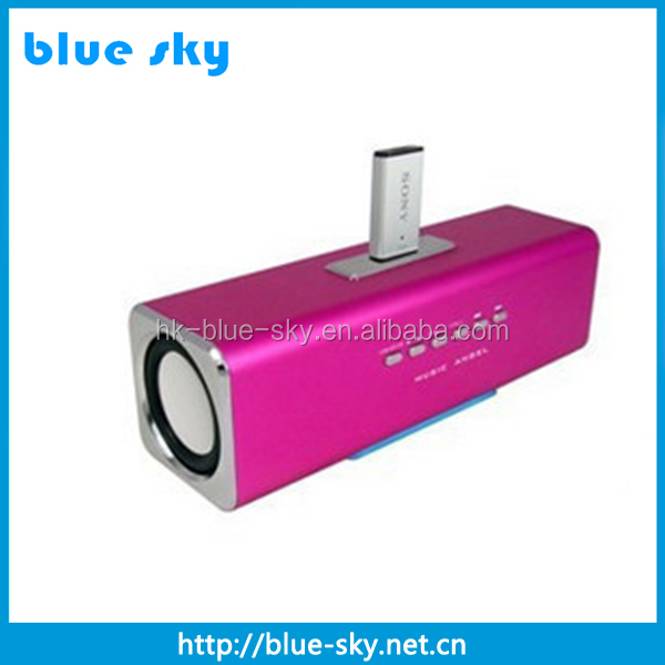 Hot sale good quality card micro speaker for mobile phone 3w*2