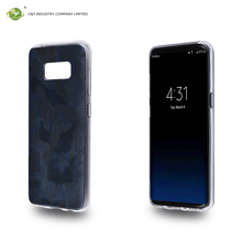 C&T Slim Flexible TPU Case Soft Rubber Silicone Skin Shockproof Cover Camouflage Pattern Design for Galaxy S8