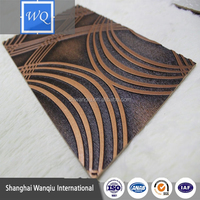 decorative 3d wall panels embossed pattern mdf panels