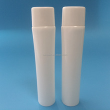 30ML flat oval plastic cosmetic tube liquid foudation packaging with long nozzle applicator