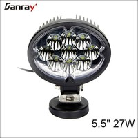 IP67 Waterproof CE Aluminum housing 5.5INCH High power LED Worklight 27W