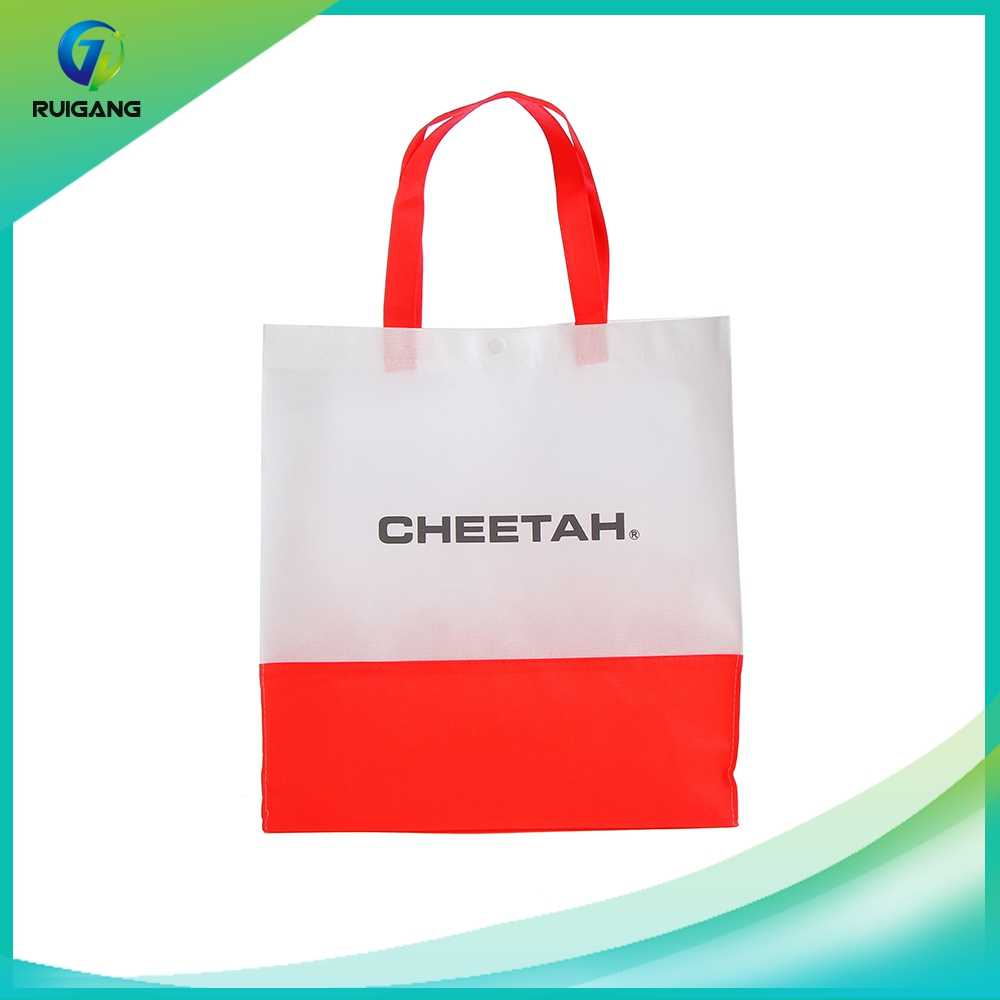 Colorful cute recycle nonwoven bag large shopping bags