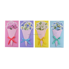 F0085 Flower Greeting Cards With Envelopes For All Occasions
