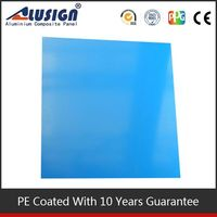 Alusign PE coated one-stop manufacture composite panel aluminum price