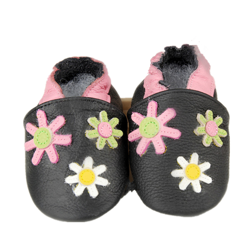 Latest Design Indoor Cute Leather Baby Shoes