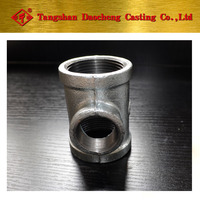 "New Series 4"" * 11/2"" Galvanized Bended Reducing Tee"
