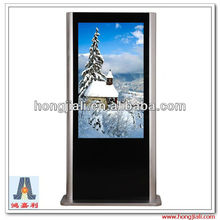 Digital Touch Screen Advertising Kiosk, Free Standing LCD/LED Advertising Displayer
