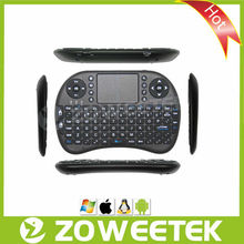Wifi Russian Mini Keyboard with Mouse for Android TV Dongle
