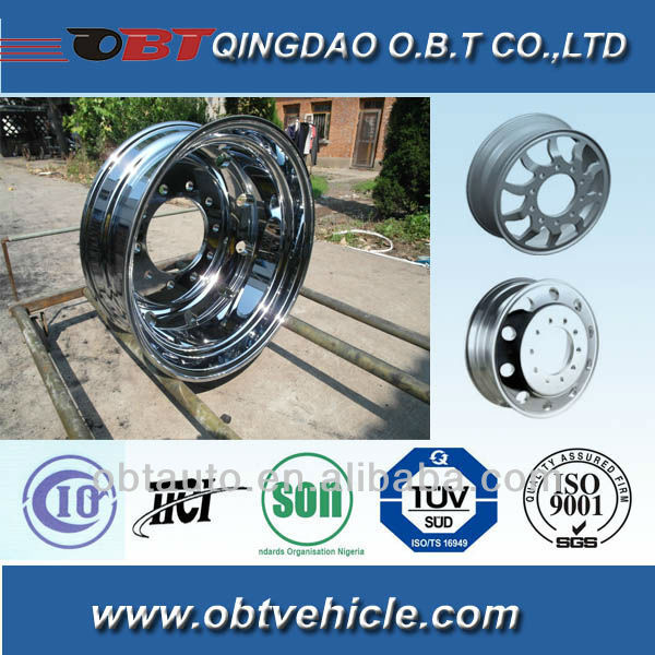 OBT custom 17.5*6.75 alumium wheels alloy wheel from maker