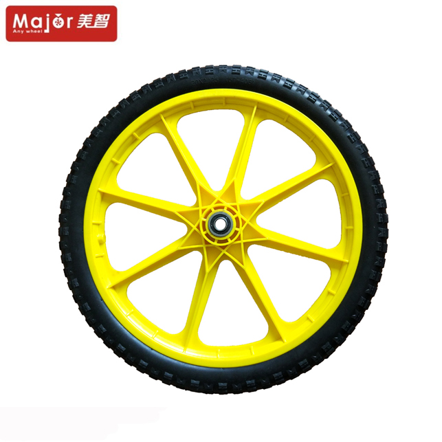 pu foam tire 20x2.125 polyurethane wheel for kids bicycle/bike/baby doll stroller