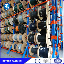 Industry Warehouse Storage Slective Cable Reel Rack