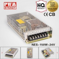 NES-150-24 CE approved 150w24v6.5a high performance switching power supply( NES series meanwell power supply )