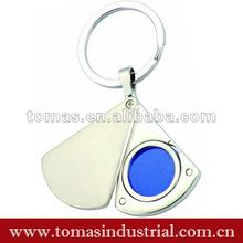 Promotional gift item photo frame metal key chain