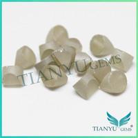 Pure white color moissanite colorless moissanite rough diamond stone fashion jewelry manufacturer china