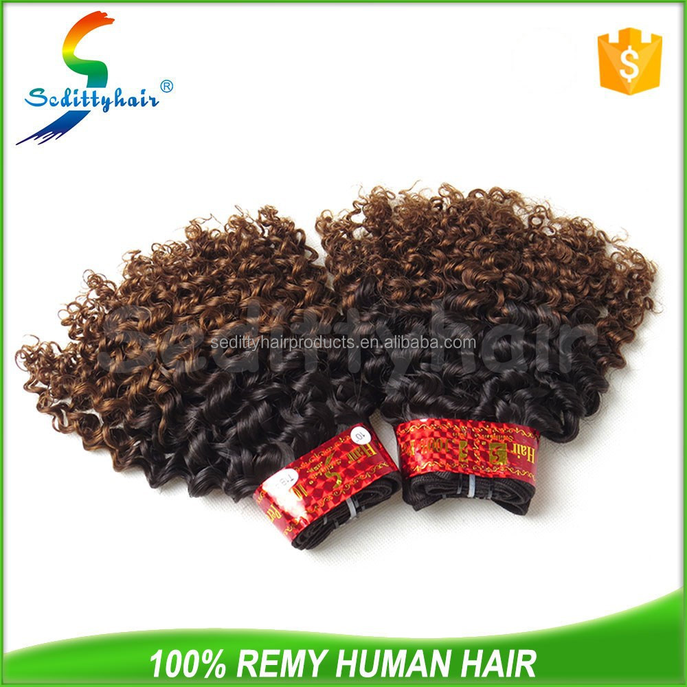 Grade 8a nice looking best quality jerry curl human hair for braiding